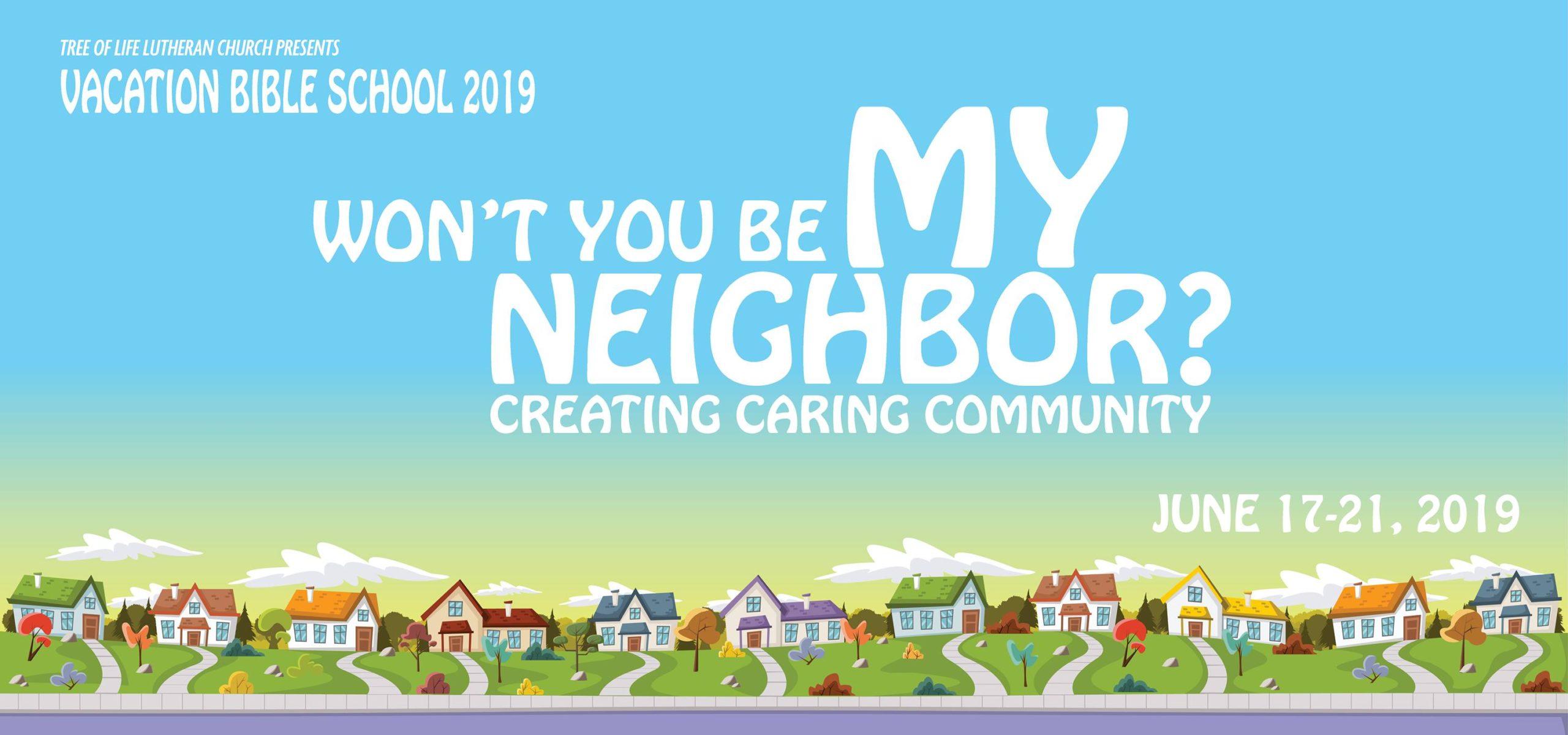 Neighbor Creating: Caring Community Logo